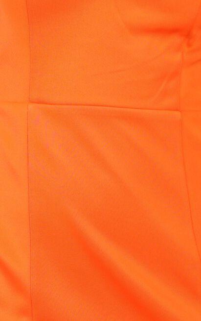 Lets Unwind Dress in tangerine - 12 (L), Orange, hi-res image number null