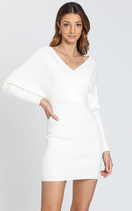 Loretta Dress in White