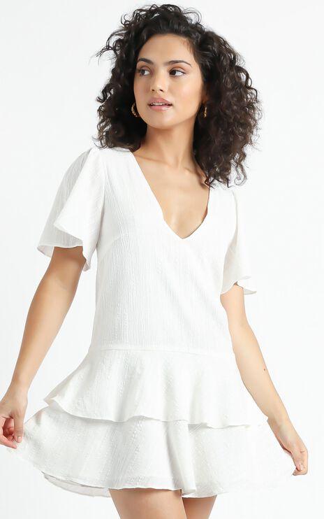 Bahama Baby Dress in White