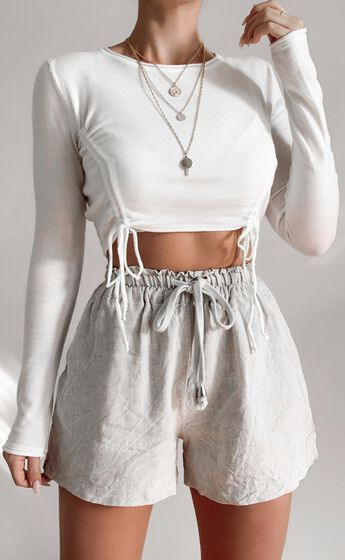 Natalya Top in White
