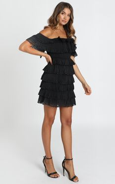 A True Attempt Dress In Black