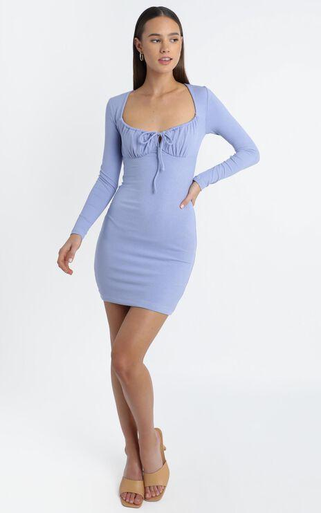 Swanson Dress in Blue