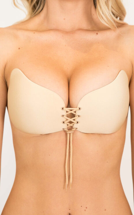Push Up Stick On Bra Nude