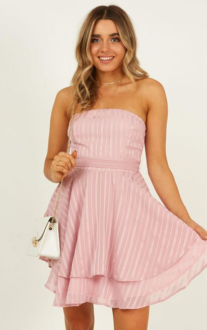 Small wonders dress in blush - 12 (L), Blush, hi-res image number null