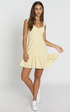 Vivi Dress in Yellow