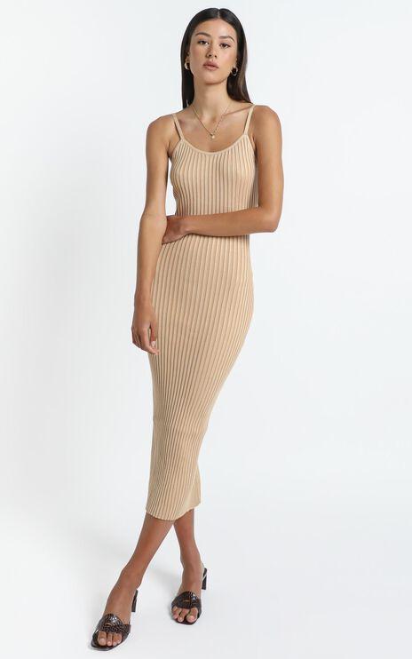 Jovie Dress in Beige