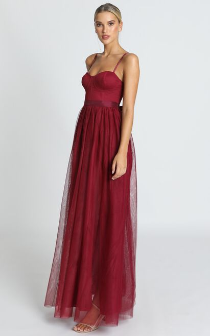 At The Altar Dress in wine - 20 (XXXXL), Wine, hi-res image number null