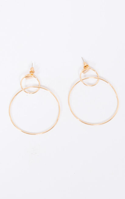 You Deserve It earrings in gold, , hi-res image number null