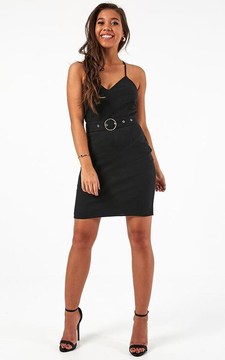 Moment Of Love Dress In Black
