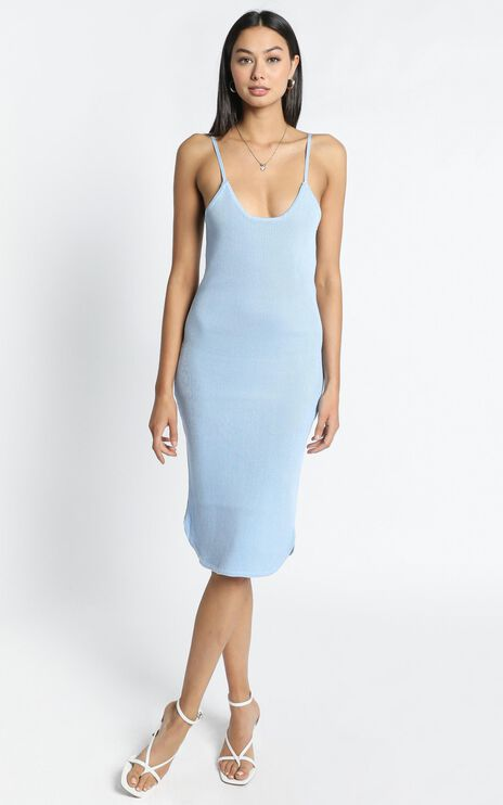 Holly Dress in Blue