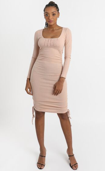 Farris Dress in Blush