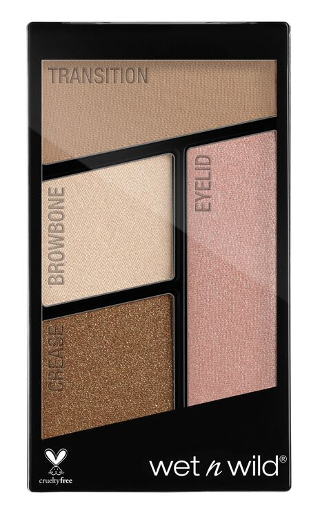 Wet N Wild - Color Icon Eyeshadow Quad In Walking On Eggshells