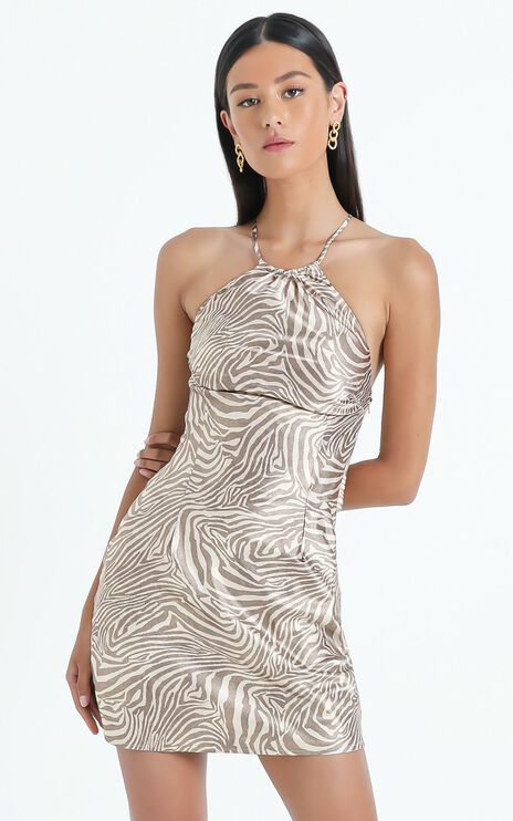 Odine Dress in Zebra
