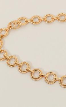 Juliet Chain Belt In Gold