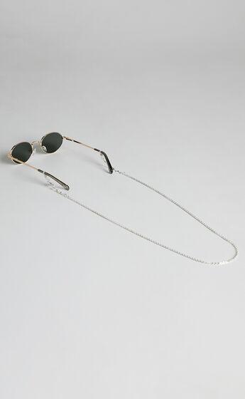 Soda Shades - Uno Sunglasses Chain in Silver