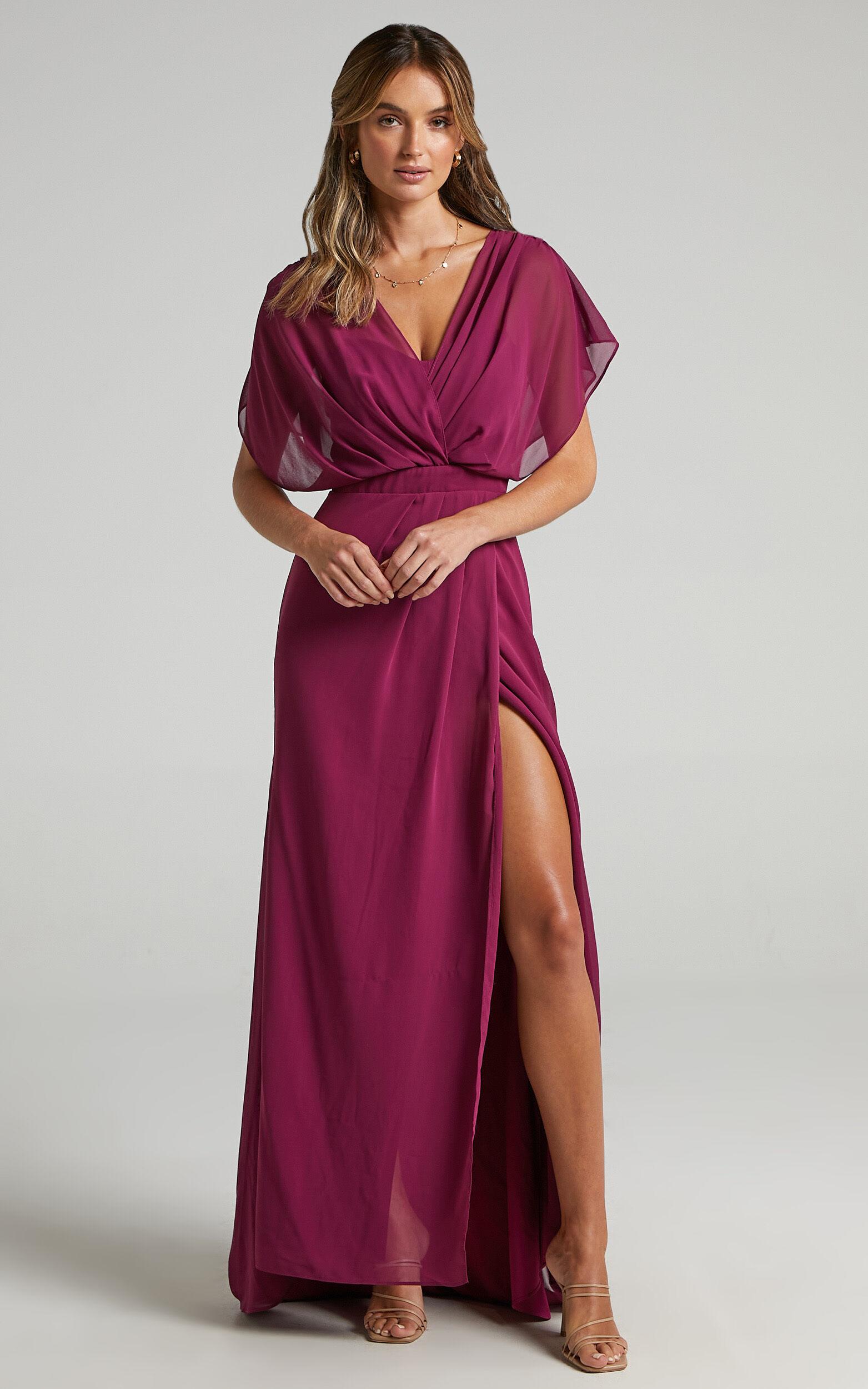 Lovers Gaze Dress in Mulberry - 06, PRP2, super-hi-res image number null