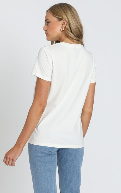 AS Colour - Maple Tee in Natural - 6 (XS), Cream, hi-res image number null
