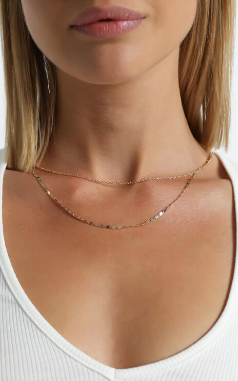 Jasia Necklace in Gold