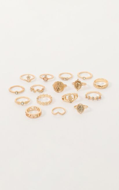 Give Me A Reason Ring Set In Gold, , hi-res image number null