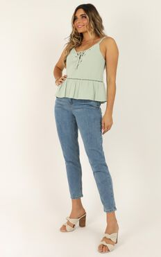 In The Loop Top In Sage