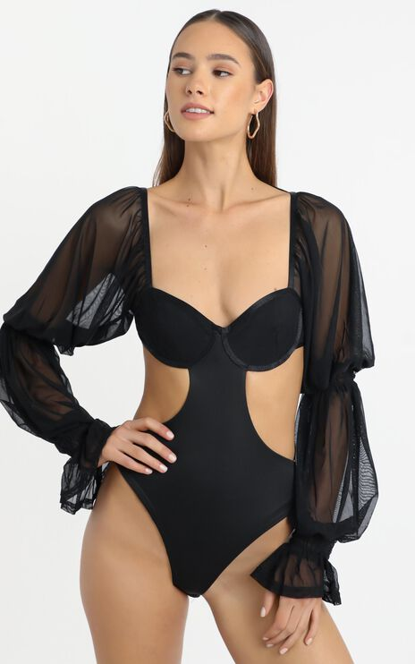 ZYA The Label - Lolita Bodysuit in Black