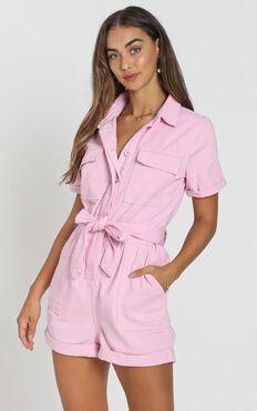 Kade Playsuit in pink