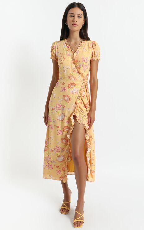 Alina Dress in Tuscan Spring