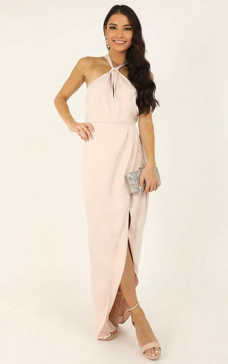 Dreaming Doll Dress In Blush