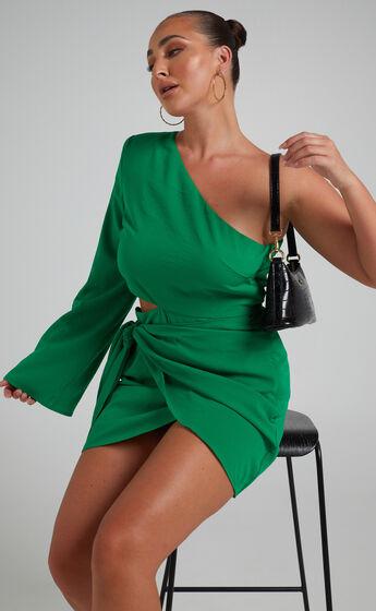 RUNAWAY THE LABEL - NAMI DRESS in Emerald