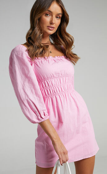 Charlie Holiday - Boheme Dress in Punch