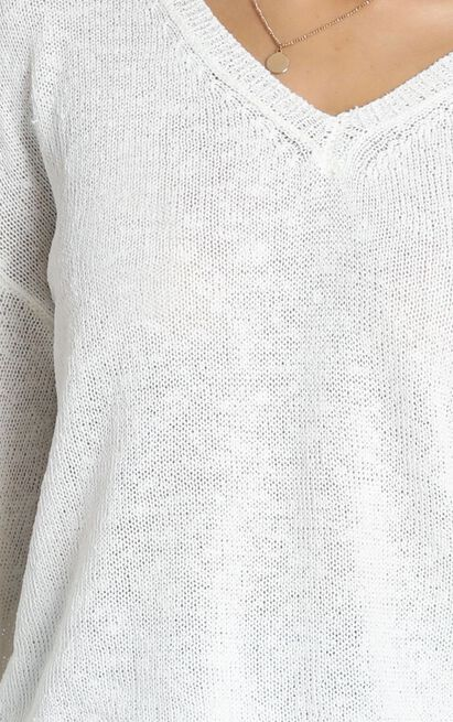 My Signature Knit in white - 18 (XXXL), White, hi-res image number null
