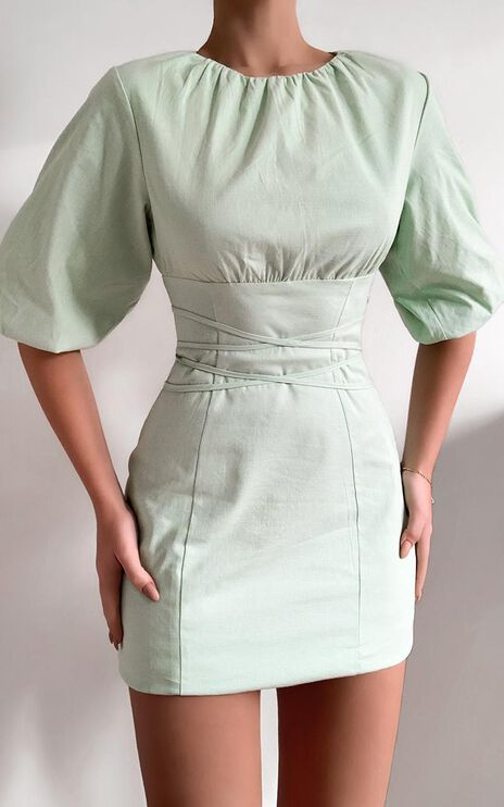 Daydreaming Dress in Mint