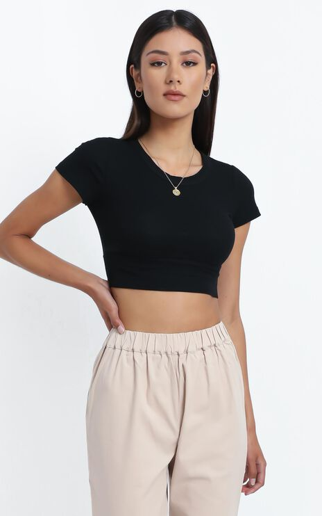 Kingston Top in Black