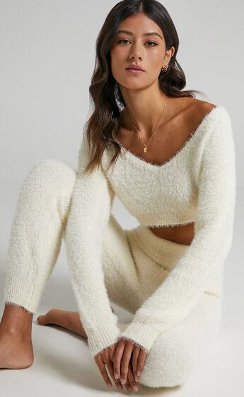 Carey Knit Jumper in Cream
