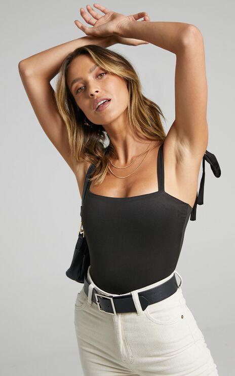 Crave Me Bodysuit In Black