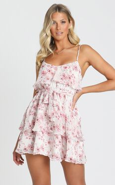 Sweet Meaning Dress in White Floral