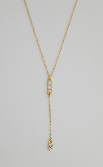 Marina chain necklace in Gold