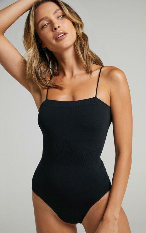 Les Girls Les Boys - Super Soft Bodysuit in Black