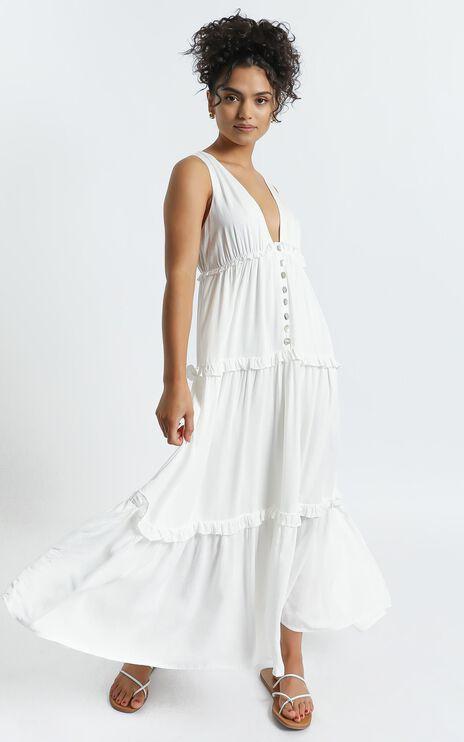 Arlana Dress in White
