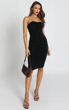 Stay in Touch Dress In Black