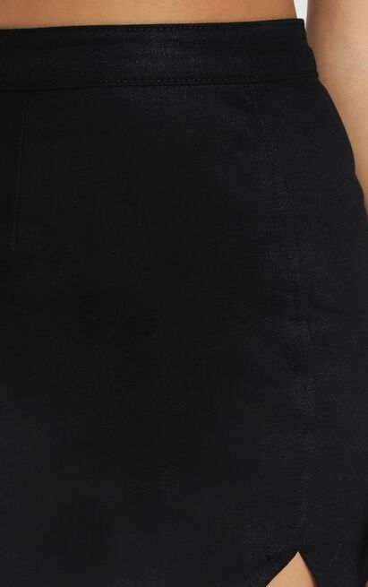 Not Kidding Around Skirt in black - 20 (XXXXL), Black, hi-res image number null
