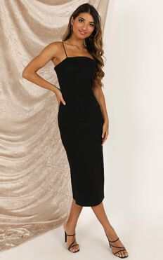 All For Fun Dress In Black