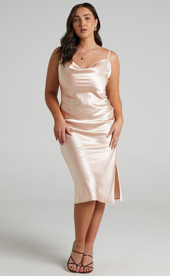 Maree Dress in Oyster