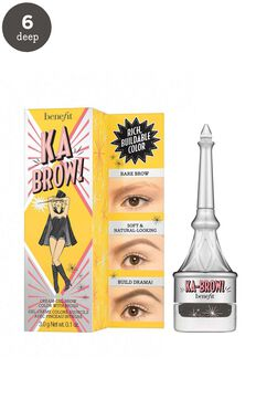 Benefit - Ka-BROW! Eyebrow Cream-Gel Colour In 6 - Cool Soft Black