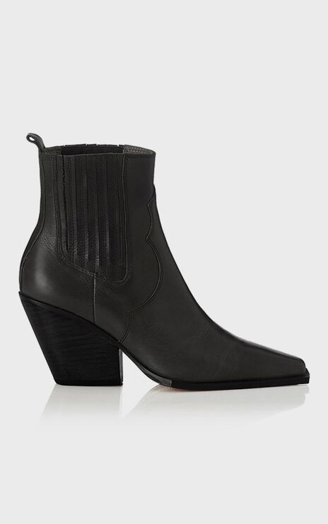 Alias Mae - Belle Boots in Black Burnished