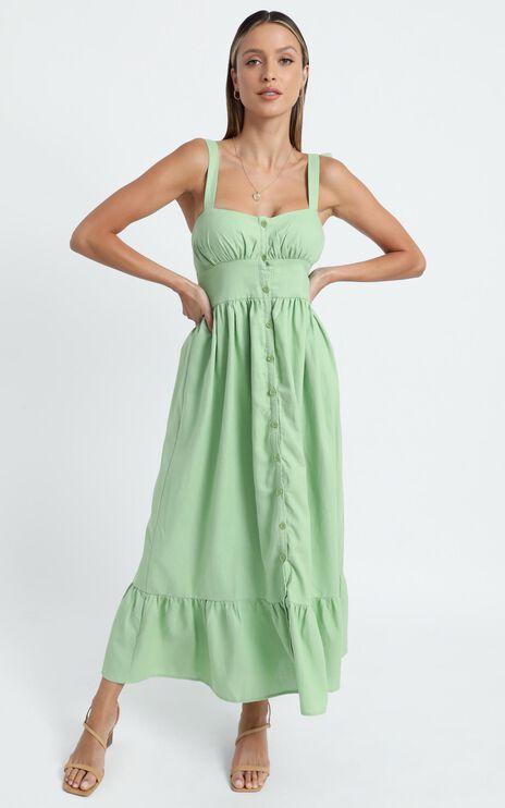 Marvina Dress in Green