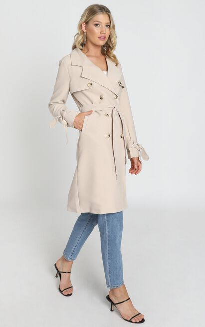 Coolest Girl Trench Coat in beige - 4 (XXS), Beige, hi-res image number null