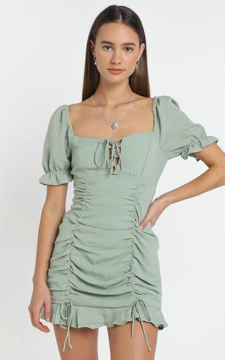 Beckett Dress in Sage