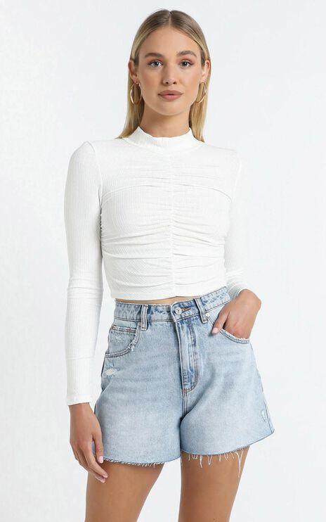 Regina Top in White