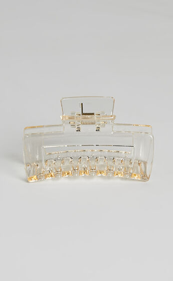 Torres Hair Clip in Clear